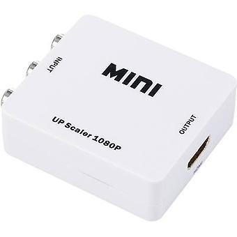 Convertidor de AV [compuesto del RCA - HDMI] 1920 x 1080 pix SpeaKa profesional SP-AV2HDMI