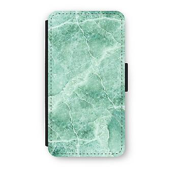 iPhone Custodia Flip di XS - marmo verde