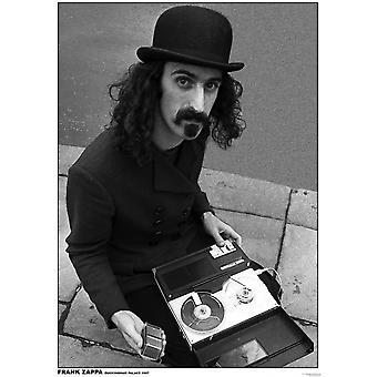Rue Frank Zappa rue Recorder affiche Poster Print