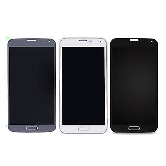 Stuff Certified ® Samsung Galaxy S5 I9600 Screen (LCD + Touch Screen + Parts) A + Quality - Blue / Black / White