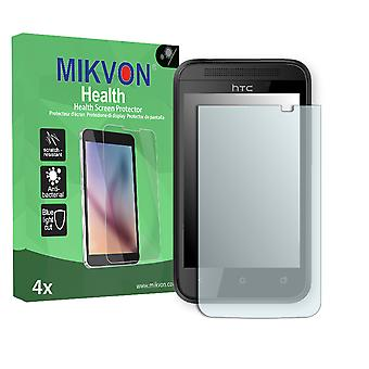 HTC 102e Screen Protector - Mikvon Health (Retail Package with accessories)