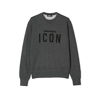 Dsquared2 Kids DSQUARED2 Kids grå 'ICON' Sweatshirt