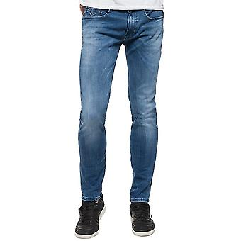 Replay HYPERFLEX Anbass Slim fit Jean Light Blue