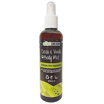 Natures Groom Cocoa & Vanilla Body Mist 250ml
