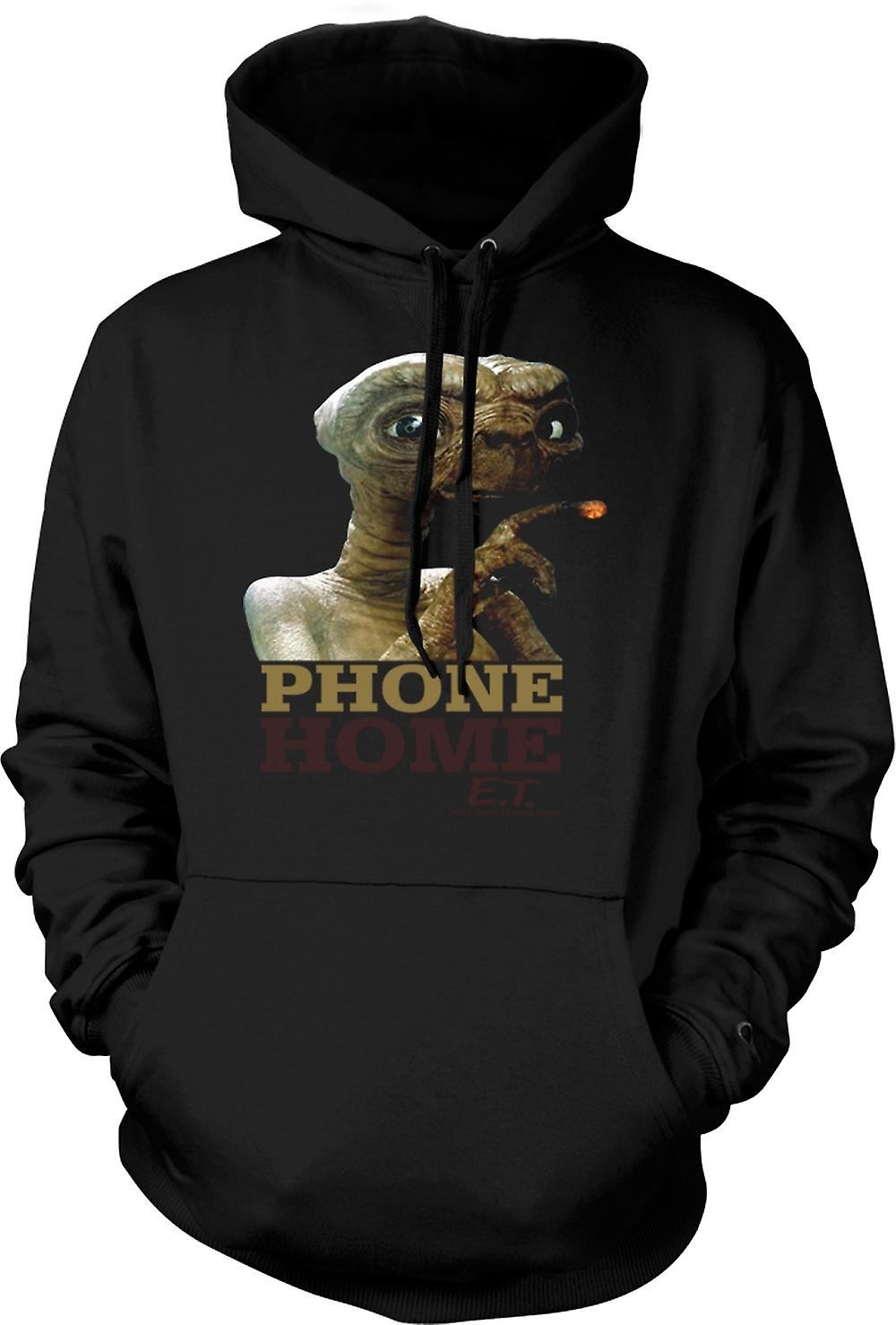Enfant Sweat Capuche - ET Phone Home - Mignon - Alien