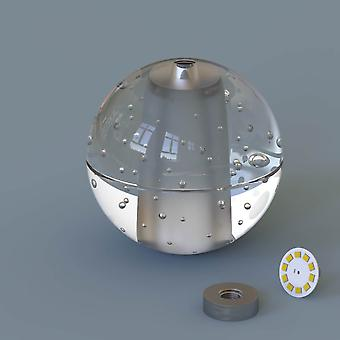 Brillcool Venus Nickel Single Pendant  Round Canopy