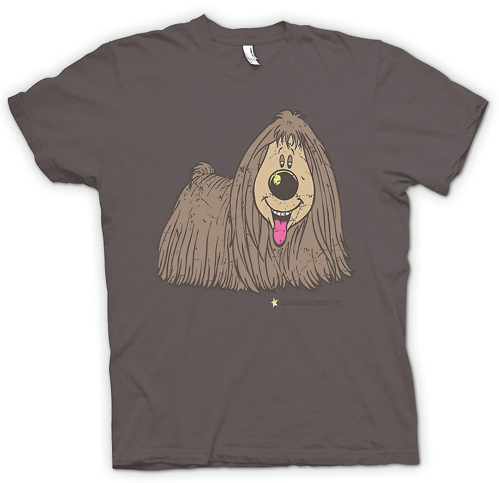 Womens T-shirt - The Magic Roundabout - Dougal