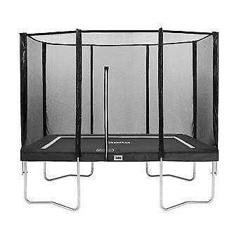 Salta Combo trampoline met veiligheidsnet 153x213 cm - grijs