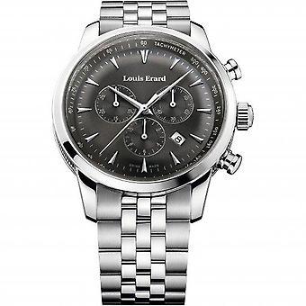 Louis Erard Heritage Silver Silver Metal Bracelet Mens Watch 13900AA03.BMA38 42mm