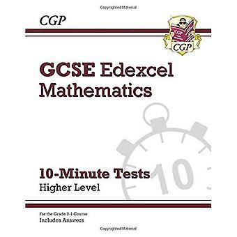 New Grade 9-1 GCSE Maths Edexcel 10-Minute Tests - Higher