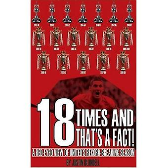 18 Times and That's a Fact: A Red-Eyed View of United's Record-Breaking Season
