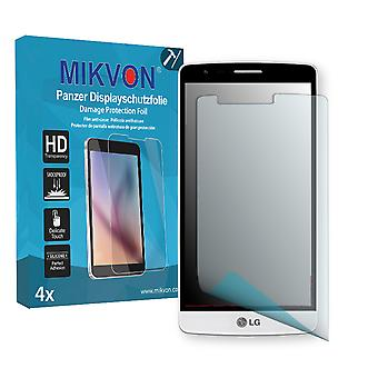 LG D725 Screen Protector - Mikvon Armor Screen Protector (Retail Package with accessories)