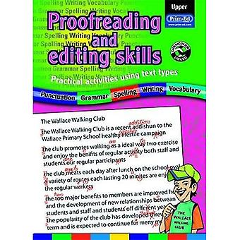 Proofreading and Editing Skills: Upper: Practical Activities Using Text Types