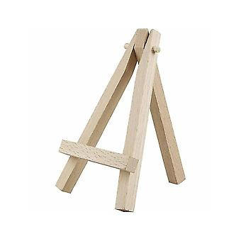 10 Mini Wooden Easel Stands for Wedding Crafts