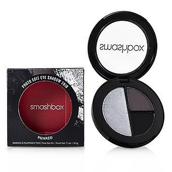 Smashbox Photo Edit Eye Shadow Trio - # Punked (Blackout Punked Rock Icon) - 3.2g/0.11oz