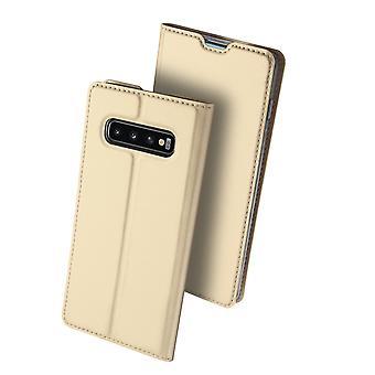DUX DUCIS Pro Series pouch Samsung Galaxy S10-Gold