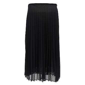 Moncler Black Polyester Skirt