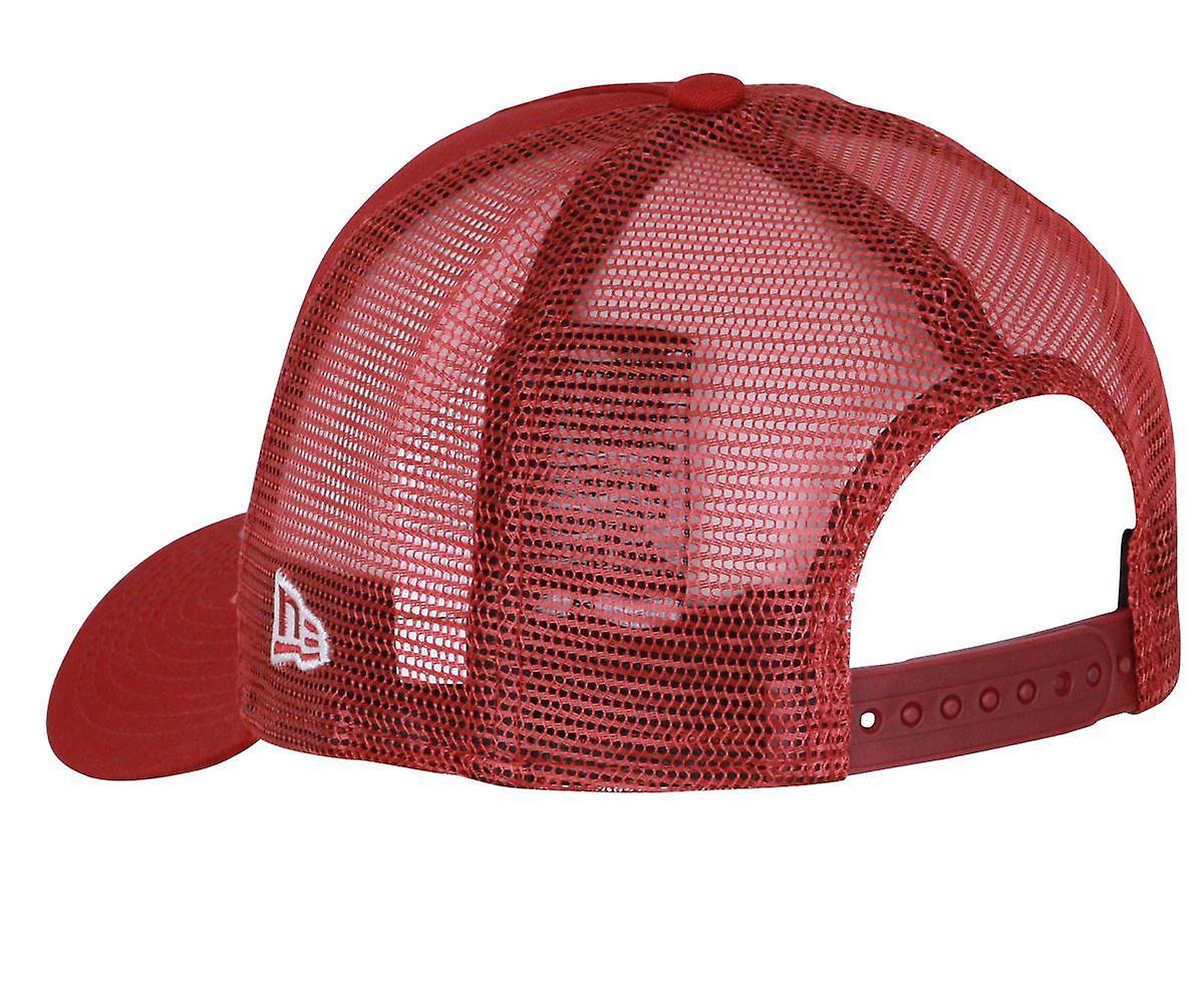 new style 990cb bd641 New Era NBA Essential Trucker Snapback Cap ~ Philadelphia 76ers