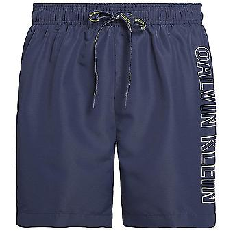 Calvin Klein Intense Power Swim Shorts, Blue Shadow, X-Large