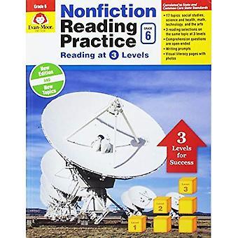 Nonfiction Reading Practice,� Grade 6 (Nonfiction Reading Practice)