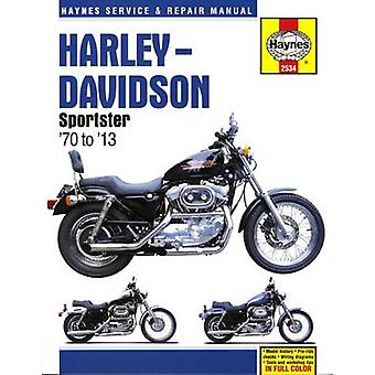 Harley Davidson Sportster Motorcycle Repair Manual (2nd Revised editi