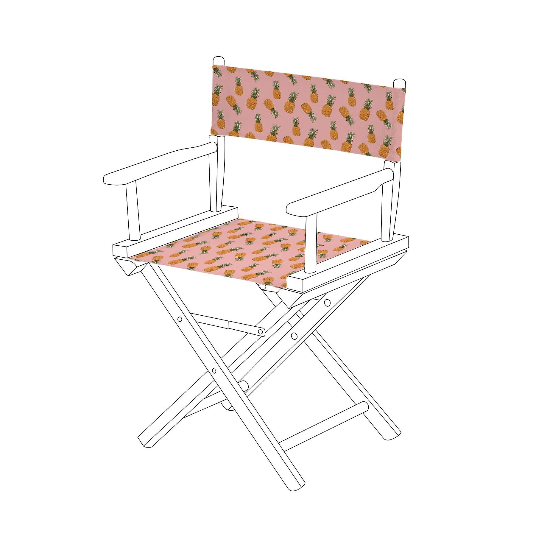 Chair Gardenista® Tropic Cover Replacement Design Directors Canvas Pineapples 3j4AL5Rq