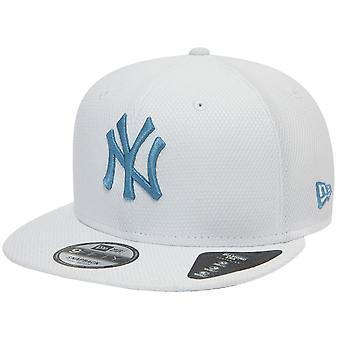 New Era 9Fifty SnapBack Cap-DIAMOND New York Yankees hvid