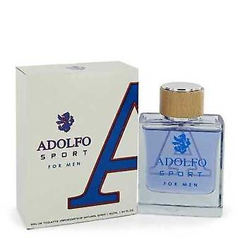Adolfo Sport By Adolfo Eau De Toilette Spray 3.4 Oz (men) V728-543571