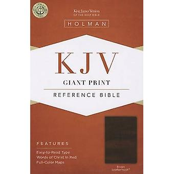 Giant Print Reference Bible-KJV (large type edition) by Broadman & Ho