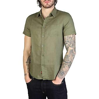 Rifle Men Green Shirts -- 5719341744