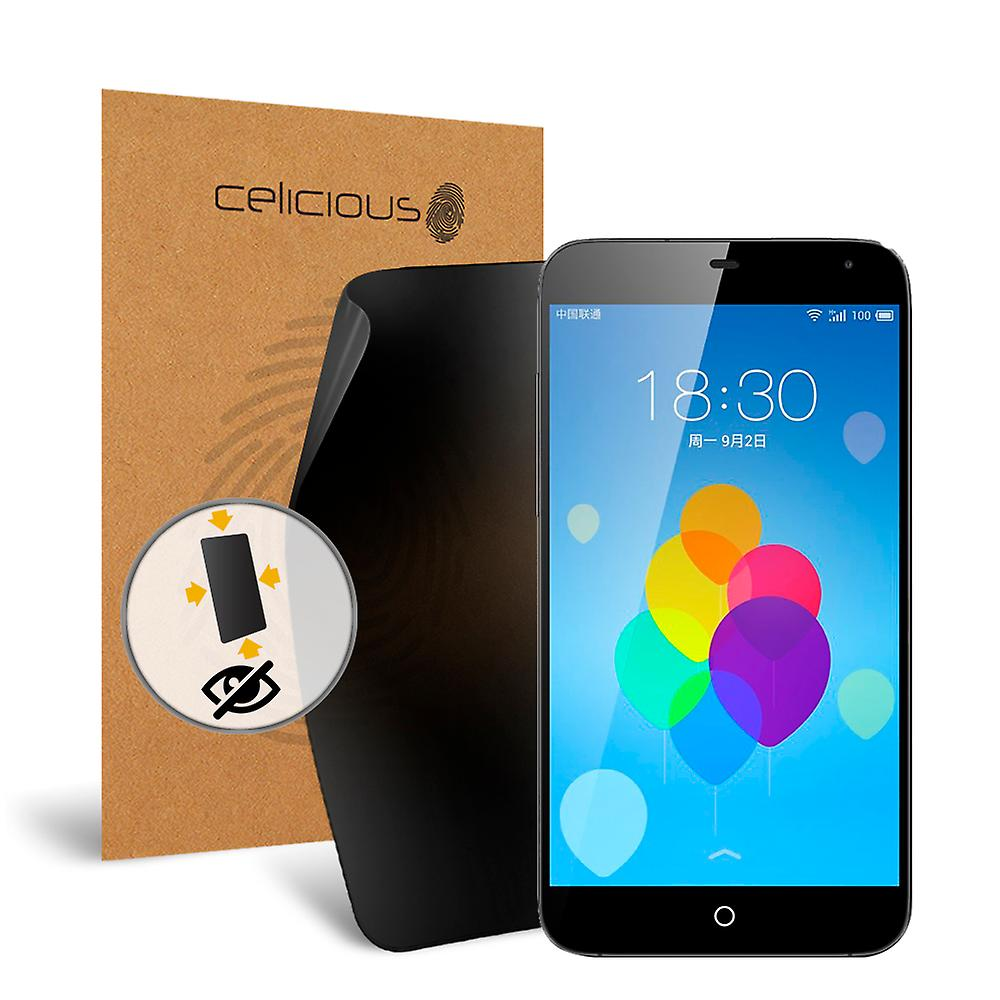 Celicious Privacy Plus 4-Way Anti-Spy Filter Screen Protector Film Compatible with Meizu MX3