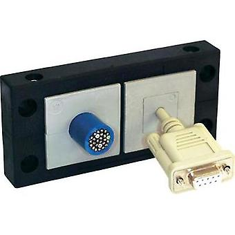 Cable router Polyamide Black Icot