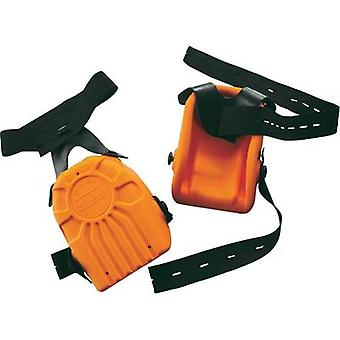 Upixx 2484 Knee pad Ergo made of PU-foam in orange Orange
