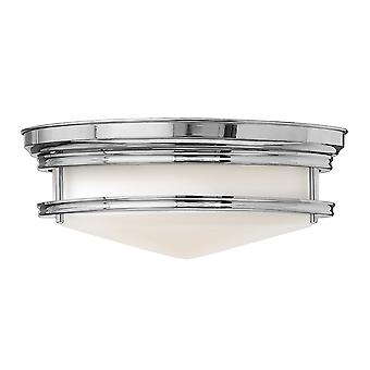 Hadley Modern Ceiling Light with Opal One Piece Glass Shade