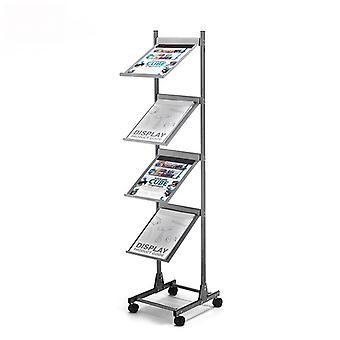 Colonna mobile A4 Brochure Stand