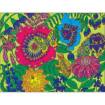 Coloriage Puzzle 300pcs-jardin WM1206