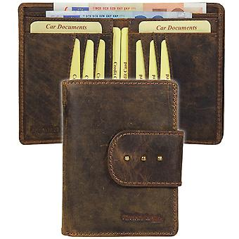 GREEN country classic Buffalo leather purse wallet