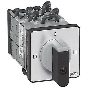 Ammeter changeover switch 16 A 360 ° Grey, Black BACO NY17AQ1 1 pc(s)