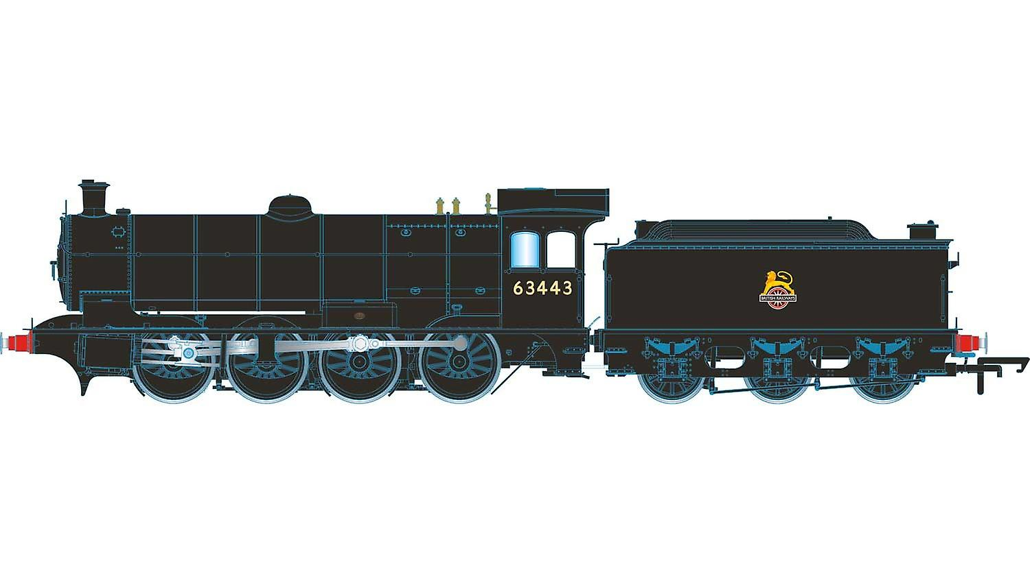 Hornby Steam Locomotive BR 0-8-0 Raven Q6 Class - BR Early