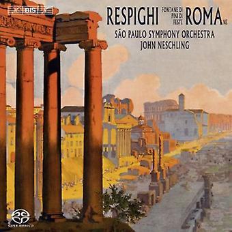 O. Respighi - Respighi: Fontante De Roma; Pini Di Roma; Feste Romane [SACD] USA import
