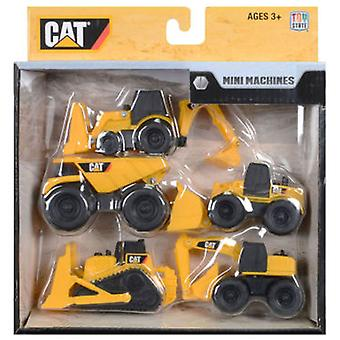 CAT Pack 5 Mini Vehicles Construction Artic.