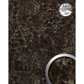 Wall Panel marble optics WallFace 19343 MARBLE EMPERADOR wall tiling in natural stone look shiny smooth adhesive abrasion resistant brown brown beige 2,6 m2
