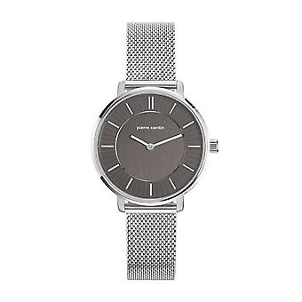 Pierre Cardin ladies watch wristwatch Brochant Femme silver PC107872F05