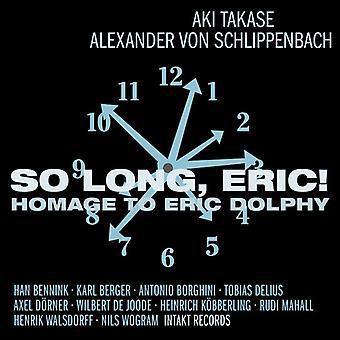 Eric Dolphy - så længe Eric-hyldest til Eric Dolphy [CD] USA import