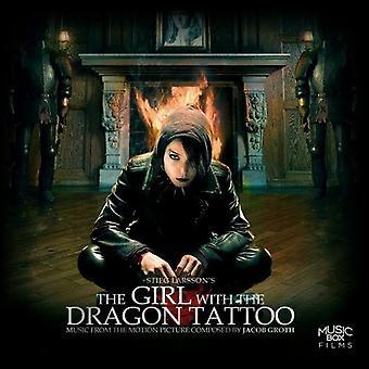 Jacob Groth - chica con tatuaje de dragón: importación de los E.e.u.u. de la música de la película [CD]