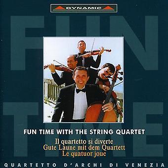 Tiempo divertido con las cuerdas Quart - tiempo de diversión con la importación de los E.e.u.u. cuarteto [CD]