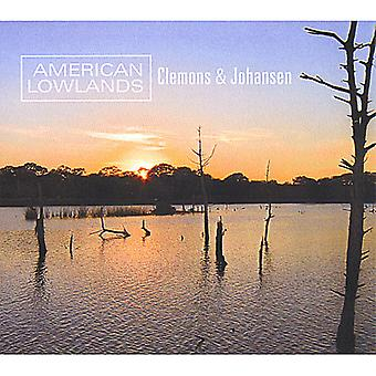 Clemons & Johansen - American Lowlands [CD] USA import
