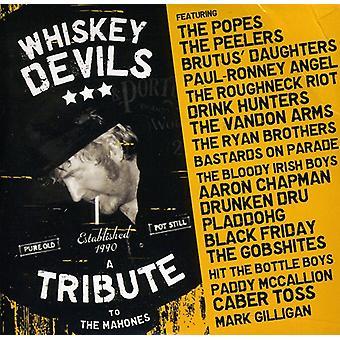Mahones - whisky djævle hyldest til Mahones [CD] USA importen