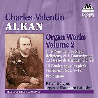 C. Alkan - Charles-Valentin Alkan: Orgelværker, Vol. 2 [CD] USA import