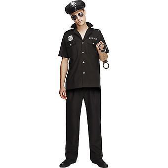 Police costume DELUXE US COP COP police costume